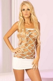 Seamless Web of Seduction Tube Dress