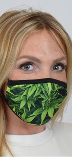 Weed Face Mask